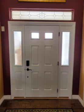 Front door replacement in Denver, Colorado