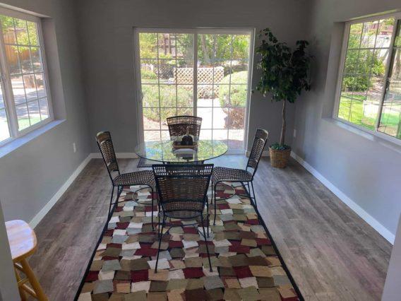 Sunroom interior, Broomfield Colorado