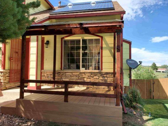 Porch extension in Colorado