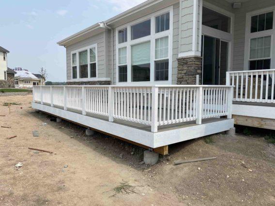 Deck construction in Colorado