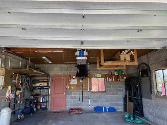 Garage door opening reconstruction