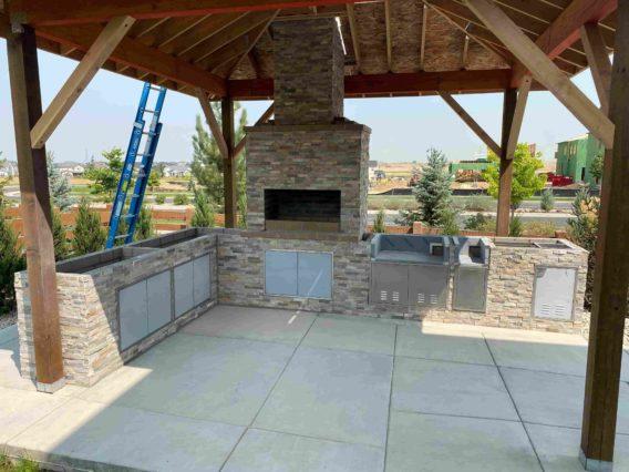 Free gazebo construction in Erie, Colorado