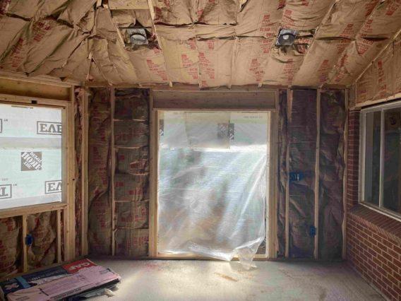 Home addition construction in Colorado, Arvada